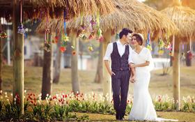 韩式创意婚纱摄影+爱意蔓延