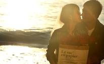 [巴厘岛婚纱客片] 夕阳西下
