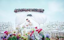 现代拓影案例分享-沙滩韩式文艺婚礼 客户:李新芸