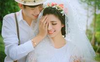 青春街景婚纱客照欣赏