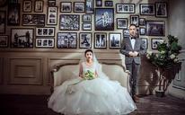【创意时尚婚纱照】每一天都想成为更好的人,不为别的只为你。