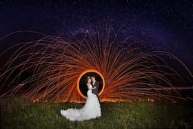 时尚创意婚纱摄影风+拉菲庄园
