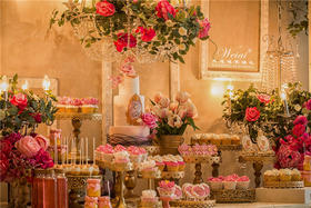 创意鲜花婚礼风——凡尔赛之夜