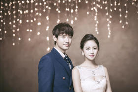 韩式唯美婚纱摄影+一爱永恒
