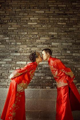 新中式西式婚纱照——春风十里,不如有你。