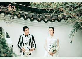 中式復古婚紗照——竹語