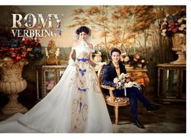 欧式复古婚纱摄影——罗密都花室