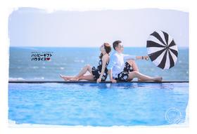 维多利亚环球婚纱旅拍《三亚站》祝福新人:赵丹夫妇