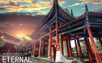 龙墨印象/束河古镇/中国风婚纱照