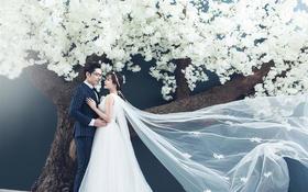韩式浪漫婚纱摄影——深情不及久伴,厚爱无需多言