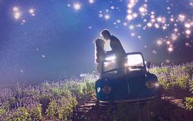 夜景婚纱照+世界上最温暖的两个字是从你口中说出的晚安