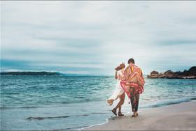 热带异域风情婚纱照