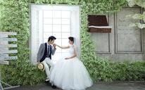 森系清新婚纱照——温暖一生的故事,寄托一生的梦想