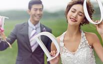 韩式唯美婚纱照 |枫情水岸