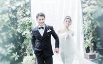 纯白的韩式之恋+韩式婚纱风