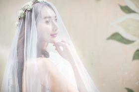 简约唯美的精致婚纱照