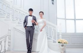 韩式浪漫婚纱照