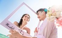 【波西米亚唯美海景婚纱照】时光·记忆的沙漏