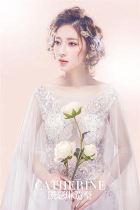 新娘婚纱礼服——百花女神
