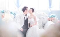 简约韩式婚纱照