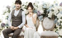 繁花似锦的小清新的韩式婚纱照