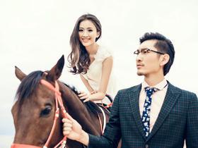 【婚纱样片欣赏】三亚主题风系列之——马