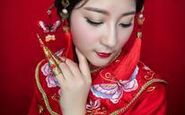安辛柏琳6.28新娘试妆实拍