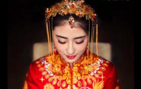 【爆款】首席定制高端跟妆+明星款婚礼服饰三套