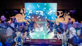 海的童话+浪漫海洋风主题婚礼