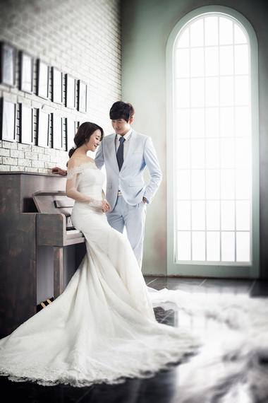 韩式唯美婚纱风+公主日记