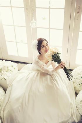 韩式清新婚纱照Snow white.《白雪公主》
