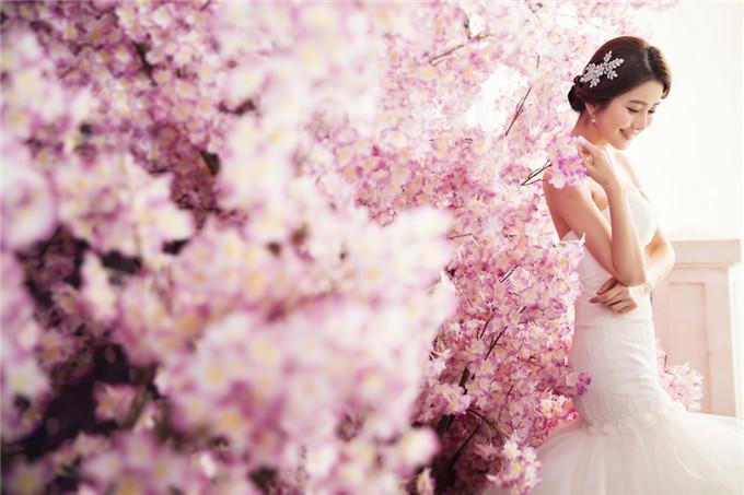 唯美韩式婚纱摄影+花满晨曦