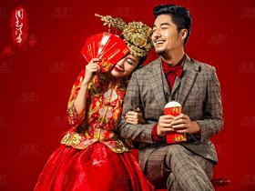 锦绣中国——中式复古婚纱照