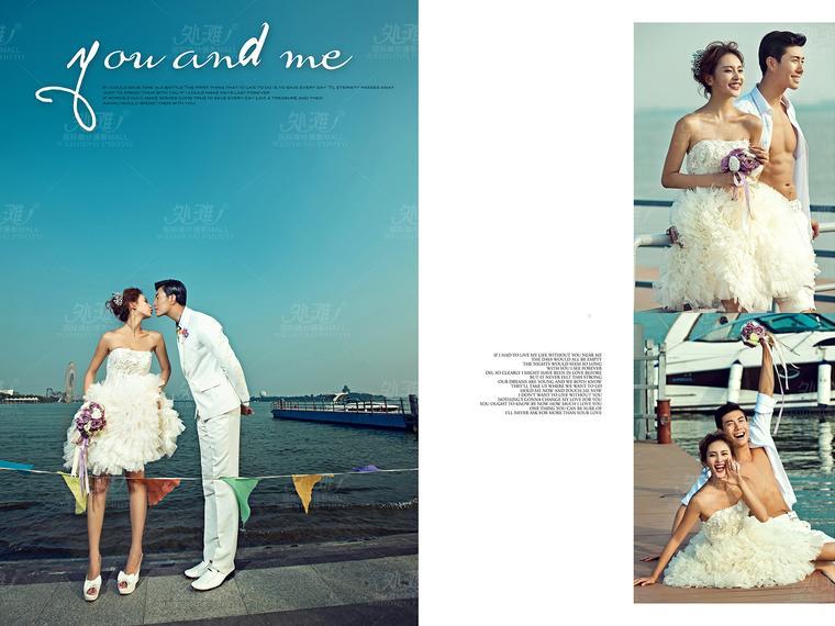 弥漫之夏——韩式婚纱照