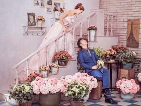 韩式主题婚纱+免税店里的韩国馆