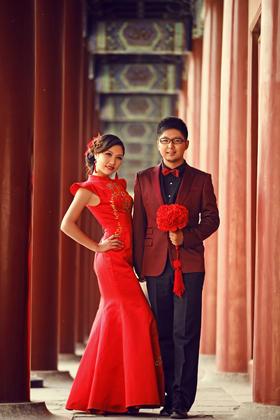纪实风·中国风婚纱摄影系列太庙客片欣赏