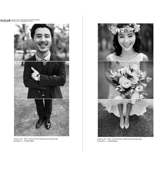 创意婚纱照 九二视觉-照片开心就好
