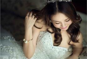 【台湾布蕾丝婚纱】甜蜜蜜的笑
