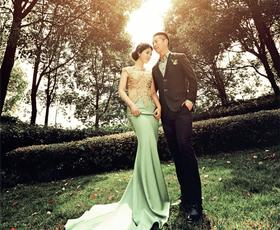 【亚果国际摄影会所】-6月森系婚纱客片