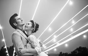 时尚夜景婚纱照——微爱~