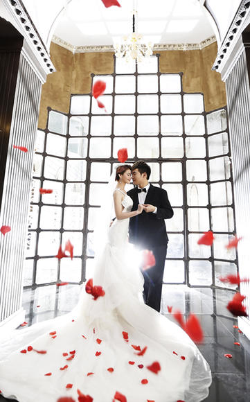 【唯美婚纱照】恭祝杨晓峰夫妇新婚大吉