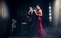 韩式文艺婚纱照——两个人的世界,一个在眼里,一个在心里