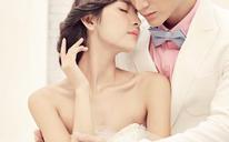 内景婚纱照——爱在一瞬间