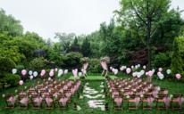 永恒印记清新草坪婚礼 《初夏雨林》