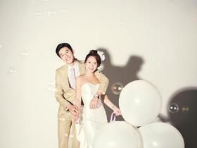 纯白记忆+创意婚纱照