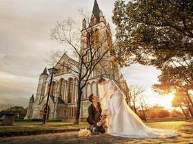 欧式婚纱照——英伦小镇