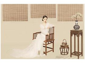 中式婚纱照——#蔓延视觉·风格大赏##工笔风##画意风#