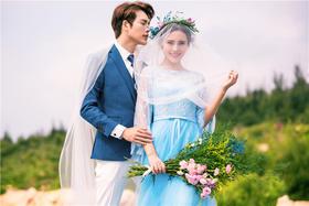 清新韩式婚纱旅拍-(。・∀・)ノ゙嗨