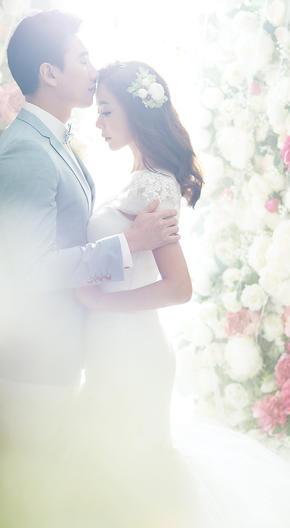 花海婚纱照——心语