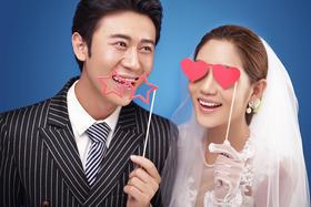 韩式婚纱摄影六月客照
